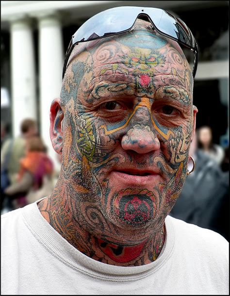 crazy tattoos for men colored