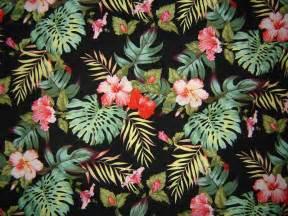Hibiscus Flower Fabric - hibiscusombre copyright mandy louwet