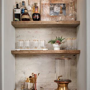 beautiful wet bar  distressed cabinets pictures