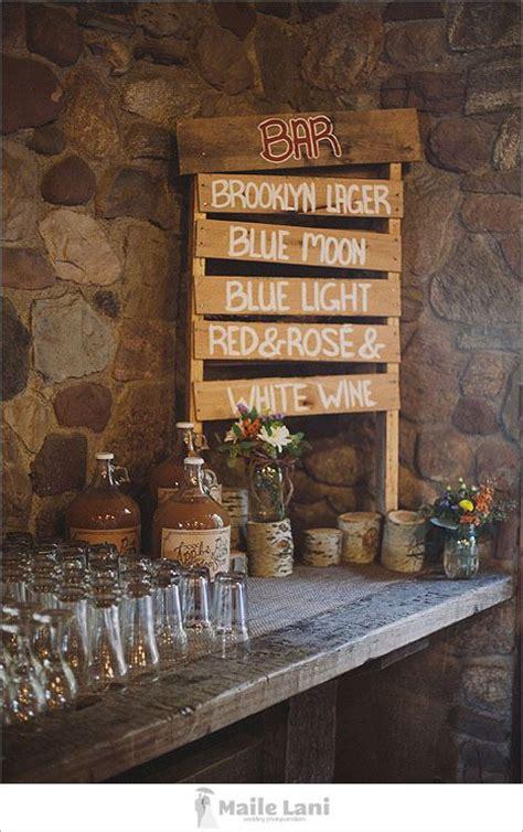 unique awesome wedding bar ideas  kick