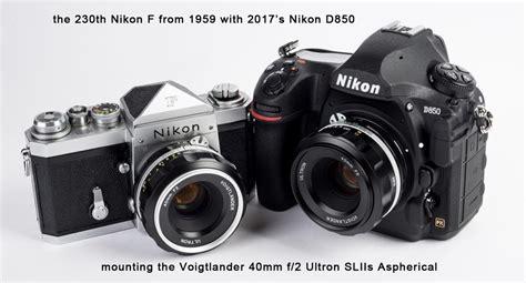 Voigtlander Nikon voigtlander 40mm f 2 sliis ultron aspherical nikon ais