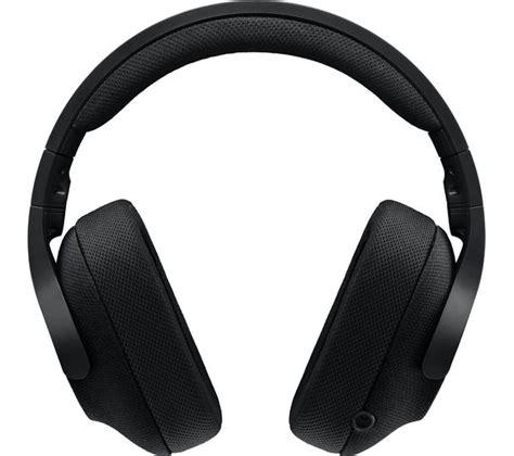 Headset Gaming Logitech G433 7 1 logitech g433 7 1 gaming headset black deals pc world