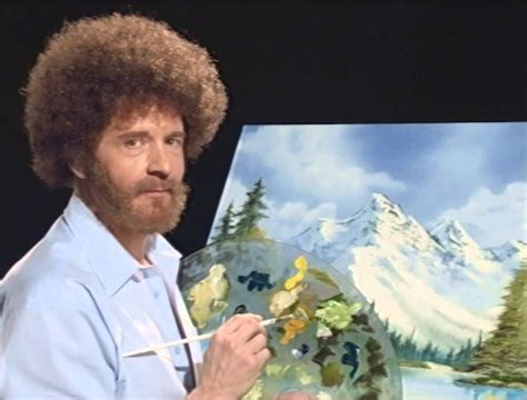 bob ross of painting years painting with bob darker than the of painting on