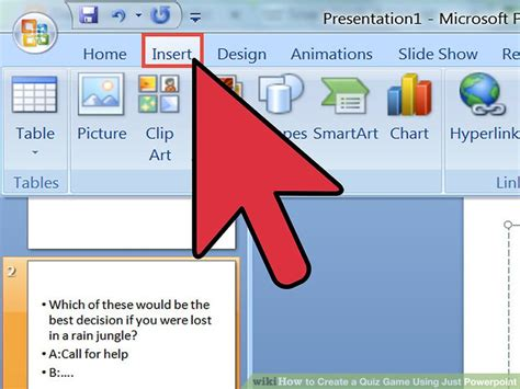 quiz questions ppt how to create a quiz game using just powerpoint 11 steps