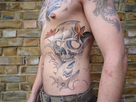 tattoos com 59 fabulous skull tattoos for rib