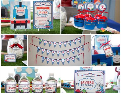 printable thomas the train party decorations thomas the train birthday quot thomas and friends birthday