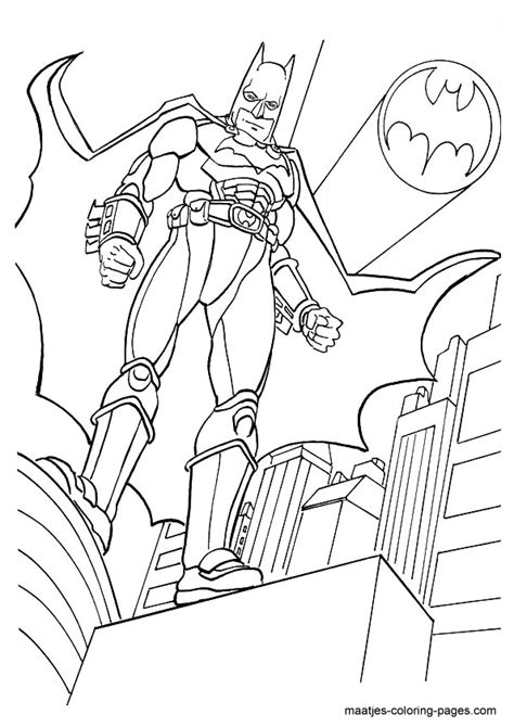 Batman Bat Bot Coloring Page Coloring Pages Batman Coloring Pages