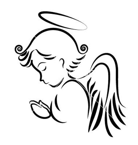 angel tattoo logo 158 best images about silhouette cameo easter god jesus