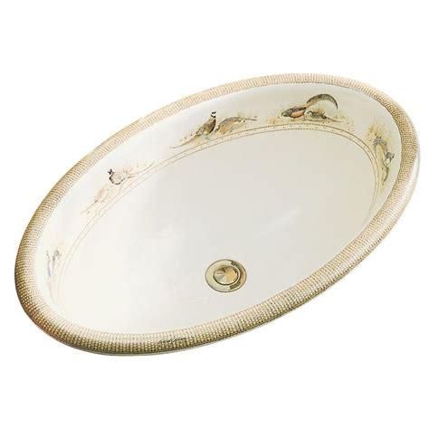 vintage drop in bathroom sinks kohler vintage drop in vitreous china bathroom sink with