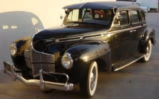 1940 dodge luxury liner de luxe sedan 4 door at