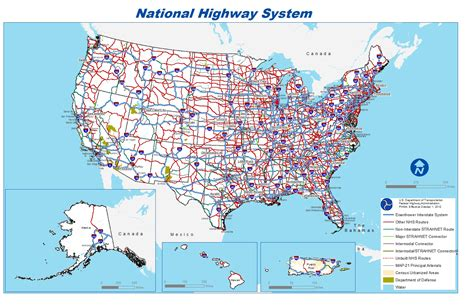free printable us road maps 6 best images of united states highway map printable