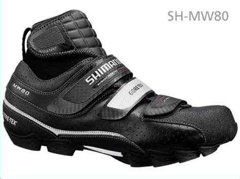 cold weather mountain bike shoes sh mw80 shimano cold weather cycling shoe industries