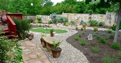 backyard rock ideas river rock garden edging ideas