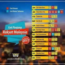 Kalender 2018 Dengan Cuti Sekolah 12 Cuti Umum Panjang Malaysia 2017 Ammboi Dot