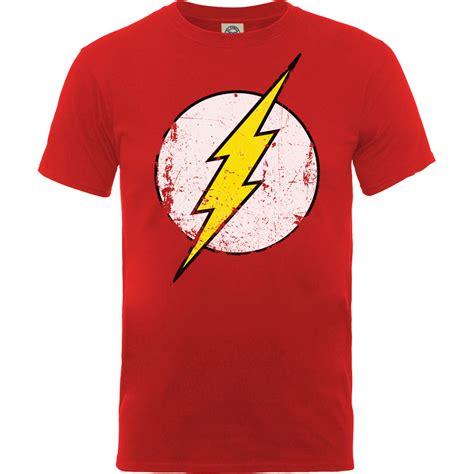 T Shirt The Flash Pcs new dc comics s flash distressed logo t shirt ebay