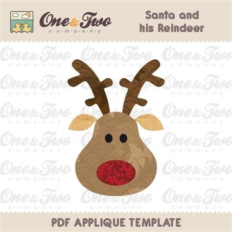 printable reindeer applique 121 best images about sewing on pinterest applique