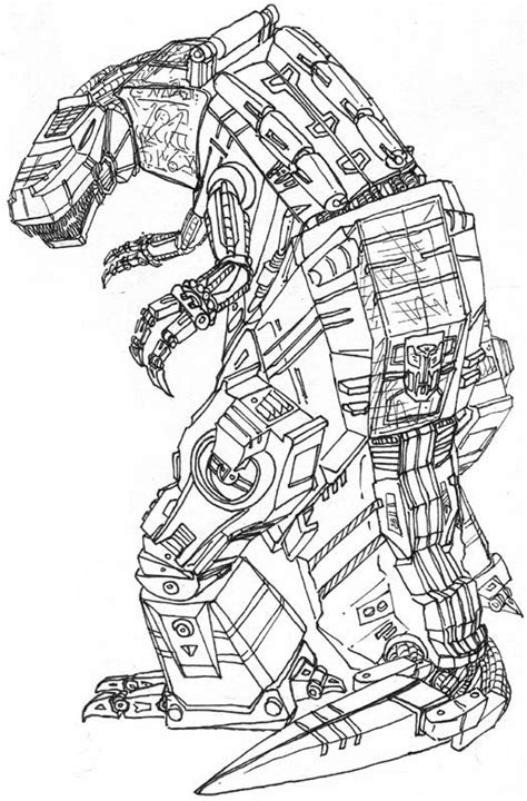 coloring pages transformers grimlock transformers coloring pages grimlock projects to try