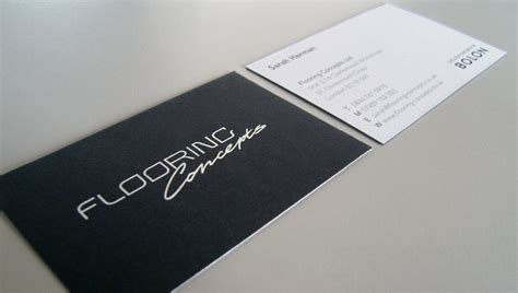 Flooring Business by Custom Business Card Flooring Concepts Cardrabbit