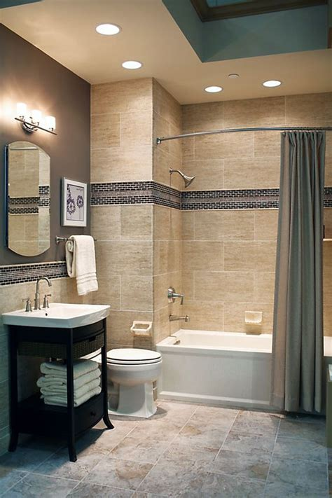 tiled baths 29 ideas to use all 4 bahtroom border tile types digsdigs