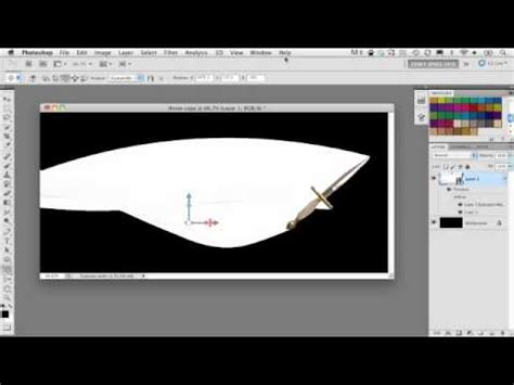 tutorial photoshop cs5 extended pdf tracer effect adobe photoshop cs5 extended tutorial