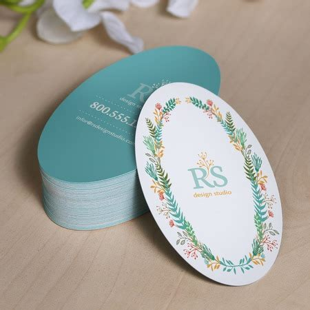 oval business cards templates oval die cut business cards choice image card design and