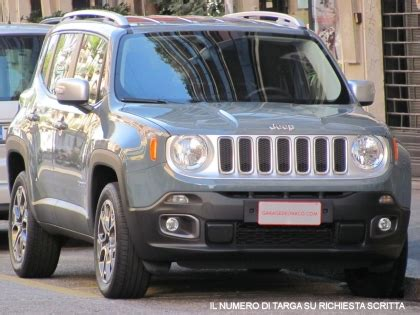 jeep renegade targa top jeep renegade 2 0 mjt limited 4wd automatica unico
