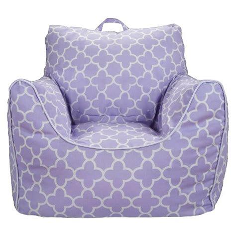 bean bag couch target bean bag chair lavender quatrefoil pillowfort target