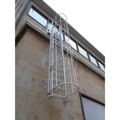 escape ladder jomy permanent ladders with safety cage