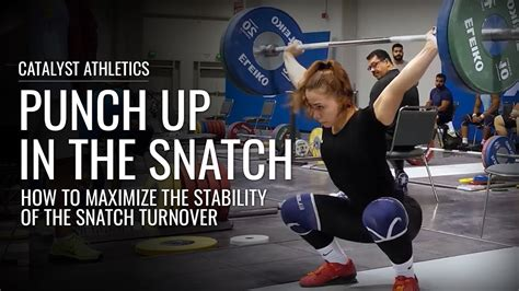 finish  snatch turnover  maximal stability