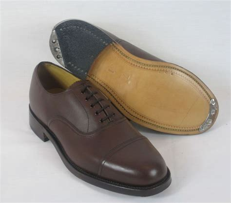 army service shoes brown