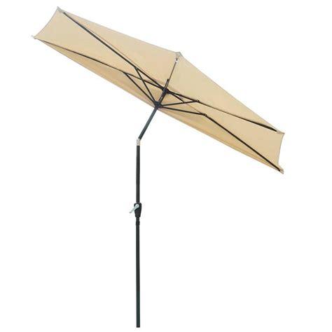 9ft Half Umbrella Outdoor Patio Bistro Wall Balcony Door