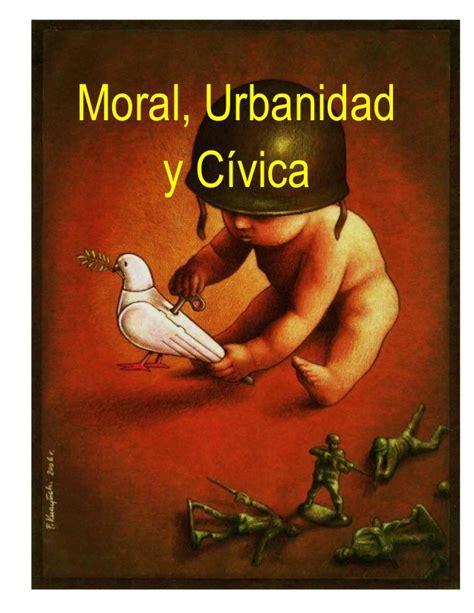 moral y civica libro moral urbanidad y c 237 vica1
