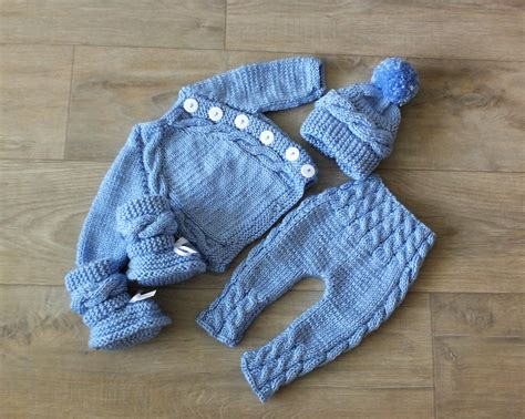 baby knitted clothes knitted baby boy coming home knit baby