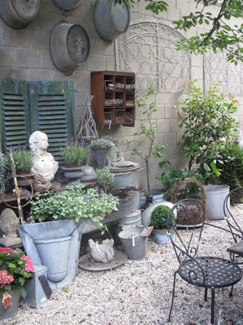 17 Shabby Chic Garden For Romantic Feel House Design And Shabby Chic Garden Decorating Ideas