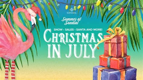 christmas in july sundialstpete