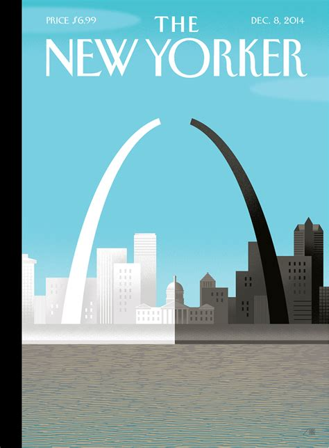 the best details from the new yorker s tmz profile cover story a broken arch for ferguson the new yorker