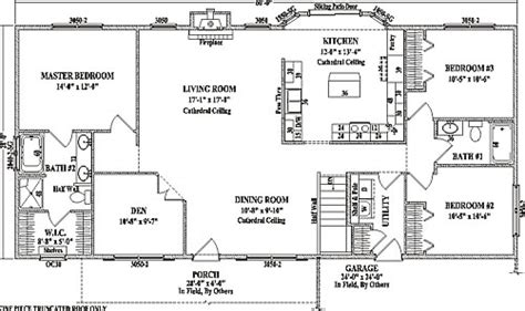 alexandria i by wardcraft homes ranch floorplan