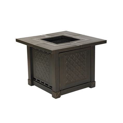 ace hardware fire pit living accents 174 herrington square decorative table gas