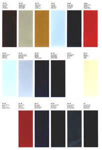 1966 1967 alfa romeo color chart