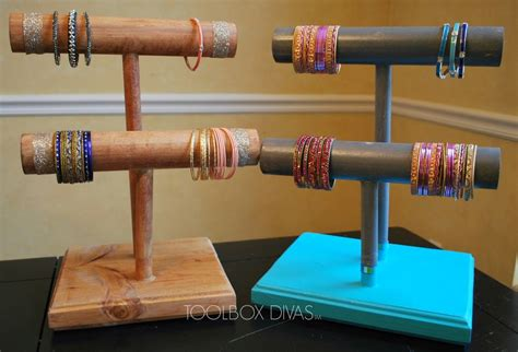 Hometalk   $14 Wooden Bracelet Holders