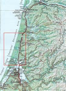 oregon recreation map oregon dunes national recreation area