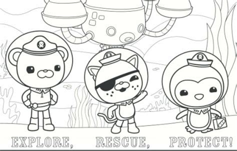 Disney Junior Octonauts Coloring Pages disney jr octonauts coloring pages coloring pages