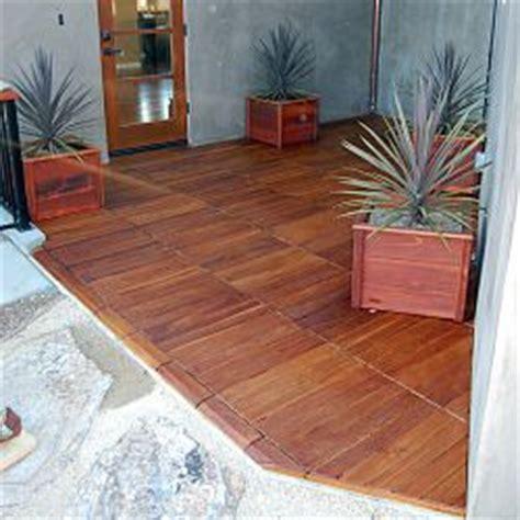 Snap Together Deck Tiles by Ipe Outdoor Deck Tiles Homeinfatuation