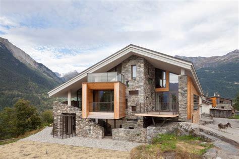 dise o de casa dise 241 o de casa moderna en la monta 241 a