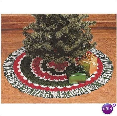 pattern crochet tree skirt easy crochet tree skirt pattern and craft holiday trees