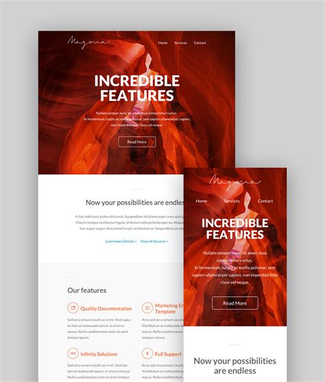 Best Mailchimp Templates To Level Up Your Business Email Newsletter 2018 Best Mailchimp Templates