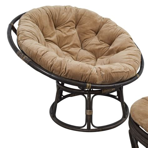 Brown Lounge Chairs by 63 Pier 1 Imports Pier 1 Imports Papasan Brown