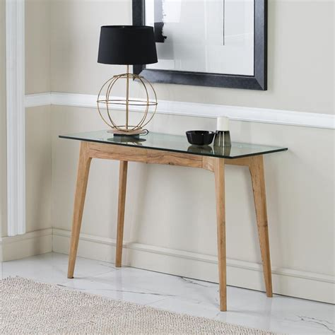 Contemporary Entryway Table Contemporary Entryway Table