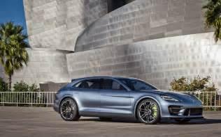 Porsche Panamera Sport Turismo Concept Porsche Panamera Sport Turismo Concept Front Three