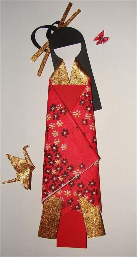 How To Make Japanese Paper Dolls - pin by siga on origami pictures origami